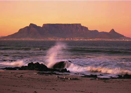 Cape Towns centrum, Sydafrika: Table Mountains