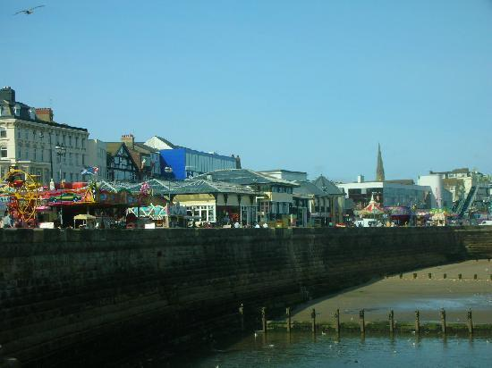 Bridlington, UK: Amusements on the front