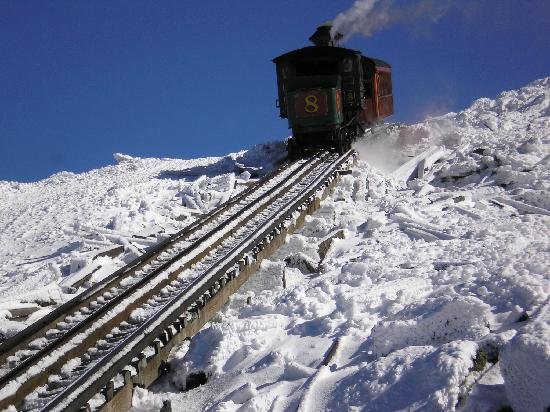 White Mountains, : Mt Washington Cog Railway