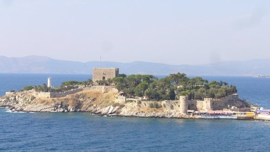 Güvercinada - the Pigeon Island of Kusadasi