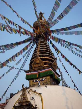 , : Bodnath Stupa