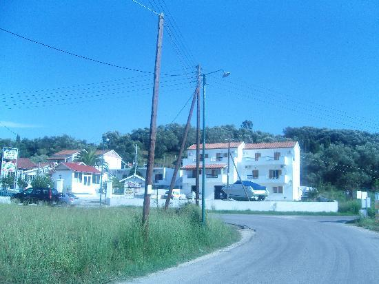 Arillas, Greece: View from the road