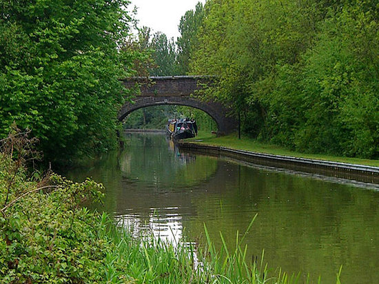 Milton Keynes, UK : canal 