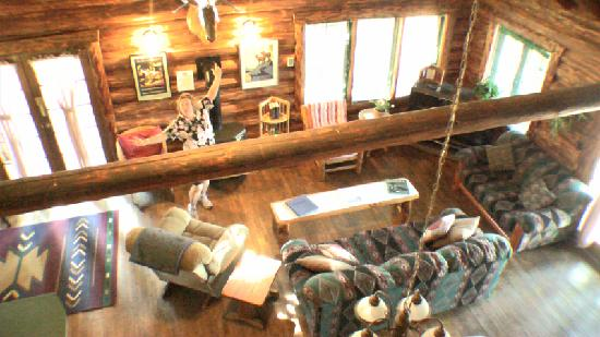 Seeley Lake, MT: View from 2 queen loft