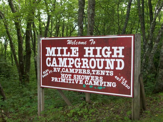 Photo of Mile High Campground Cherokee