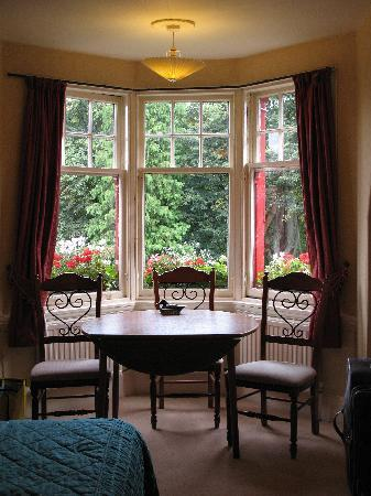 Kirklee Hotel: View from the bay window