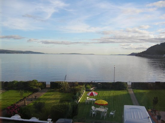 Dunoon, UK: View from my bedroom