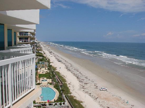 daytona beach from balcony