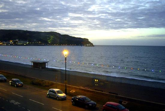 Bay County Hotel: View from room - early evening