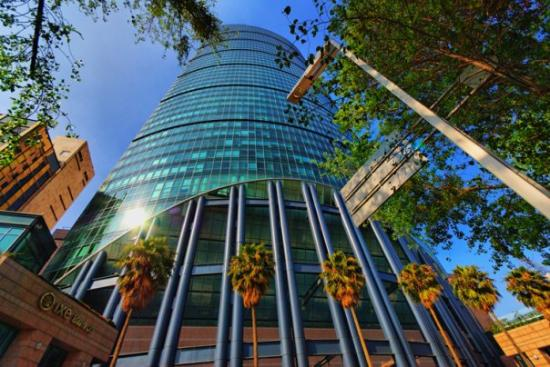 Мехико, Мексика: HDR imagery of one of the tallest buildings in Mexico City situated along Reforma Ave.