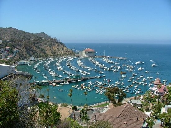 Avalon, CA: Closest thing to the Mediterranean on this side of the world....