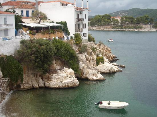 Hidden gems skiathos town picture of beltsios hotel for Skiathos town hotels