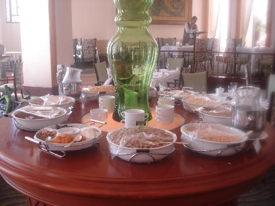 The Palace Port Ghalib: One stand of many at the breakfast buffet
