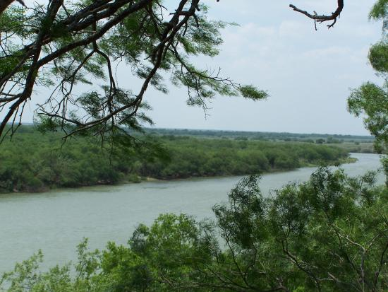 Eagle Pass, TX: View of the Rio Grand