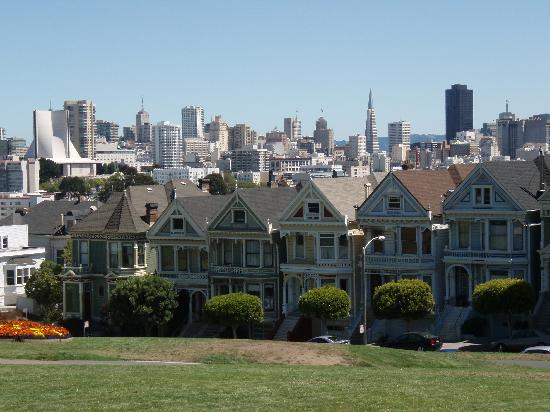 Scene of full house intro picture of san francisco movie for San francisco mansion tour