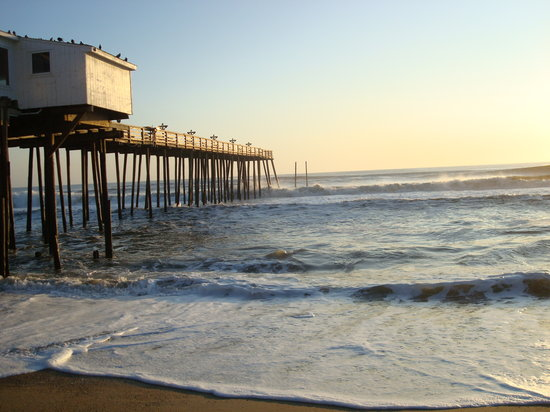 Kitty Hawk, Caroline du Nord : The fishing pier 