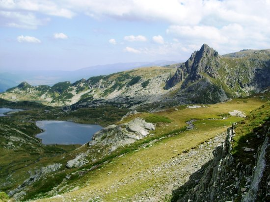 Bulgaria: Lake Bliznaka and peak Haramiata in Rila mountain