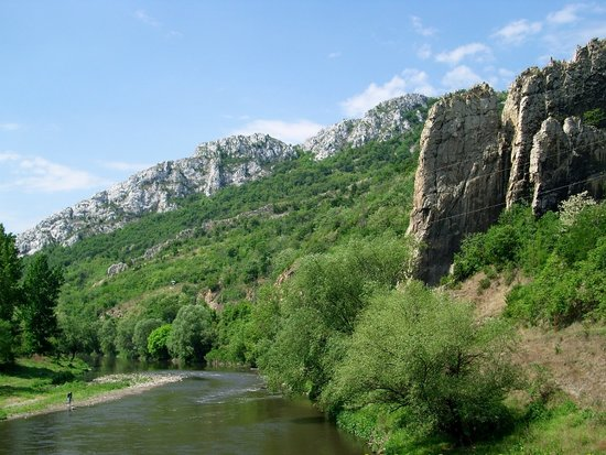 Bulgaria: The Iskar Gorge, near village Luti brod