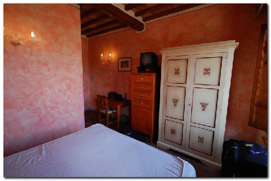 Palazzo al Torrione 2: View from our bed