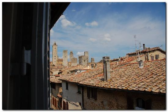 Palazzo al Torrione 2: View from our window