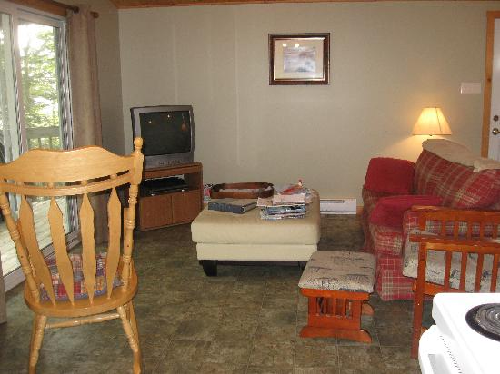 Boulder Cove Cottages: interior