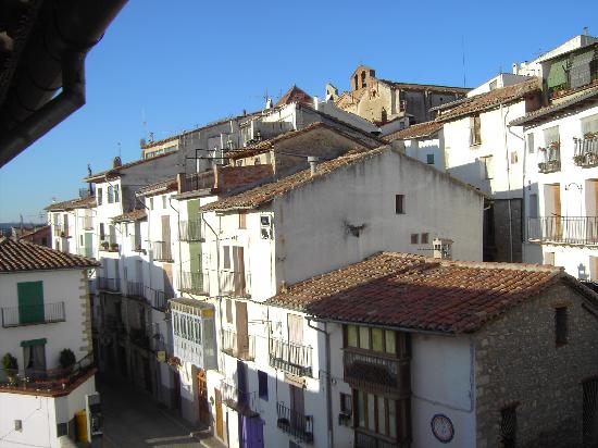 Morella, Spania: View from Bedroom Window