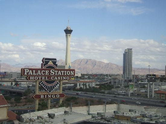 Palace Station Hotel and Casino : A tower room view 