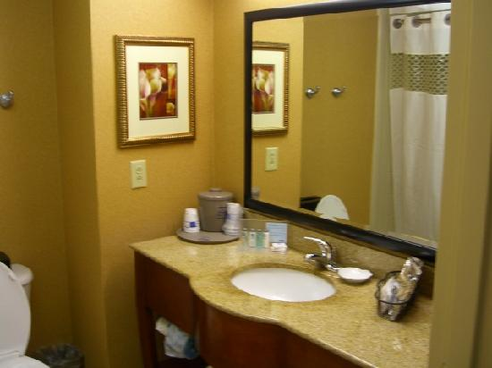 Hampton Inn & Suites Fredericksburg South: Bath