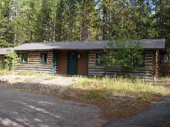 One bedroom private cabin picture of colter bay village for Teton cabin rentals