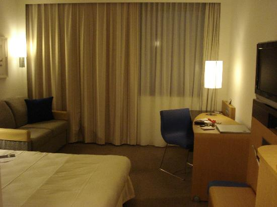 Novotel Nuremberg Messezentrum: the room