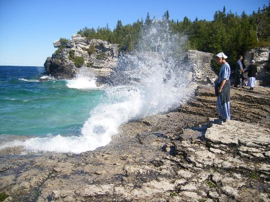 Bruce Anchor Motel and Cottage Rentals: The Grotto, Tobermory