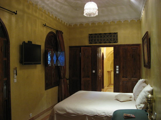 La Sultana Marrakech: Antelope. Sunken Bath, separate toilet & shower