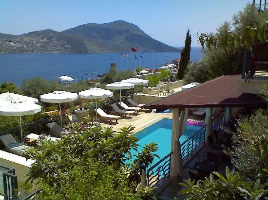 Hotel 39 S Pool Over Looking Kalkan Bay Aug09 Picture Of