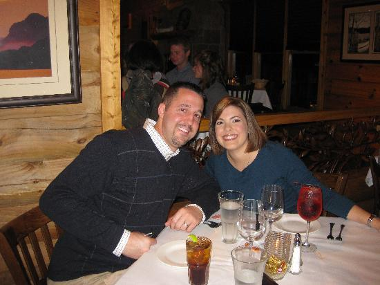 The Lodge on Lake Lure: Dinner at Larkin's on the Lake