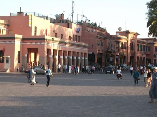 Riad Aguerzame: Djemaa el Fna Square - 5 minute wald