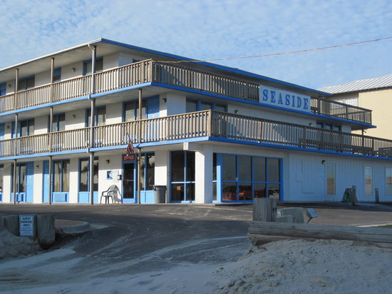 Seaside Motel and condominiums: Seaside
