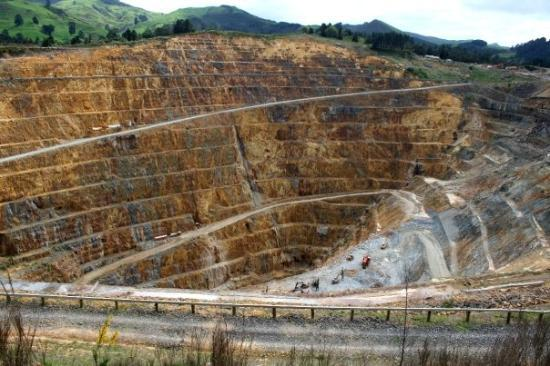 The Martha gold mine, Waihi