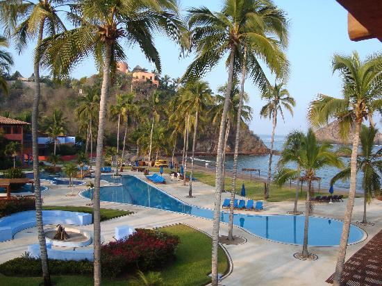 El Careyes Beach Resort: room view