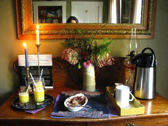 Montpellier, VT: breakfast