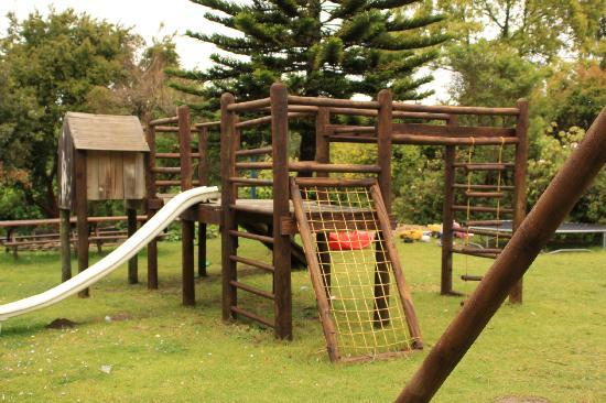 Coral Tree Cottages: play area