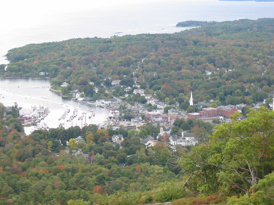 Lincolnville, ME: View From Mount Battie
