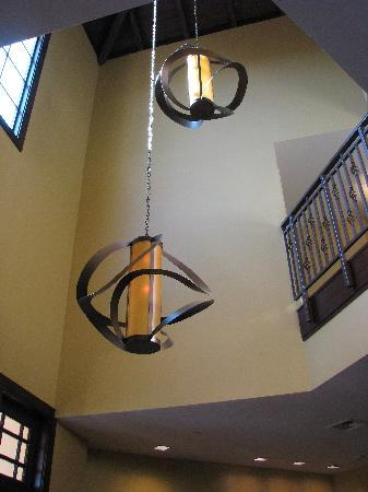 Hotel Abrego: Loved these lights!