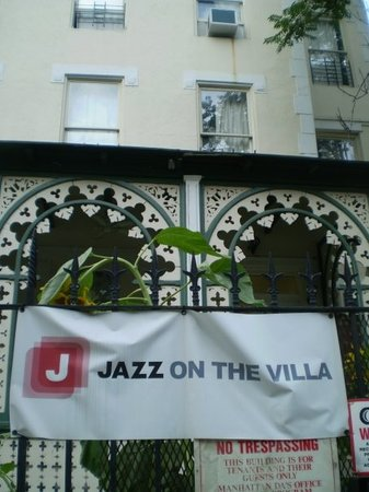 Jazz on the Villa Hostel