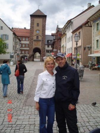 Villingen-Schwenningen, Deutschland: gabi and me in villingen germany