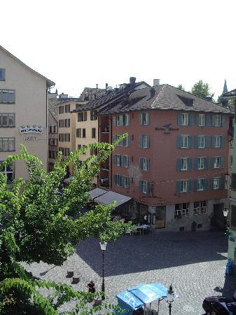 Apartmenthouse Goldenes Schwert: view from our room