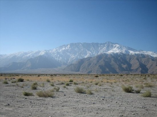 Desert Hot Springs, Californie : San Jacinto mountains
