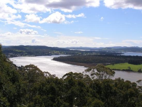 Tamar Valley View From Brady S Lookout Near Launceston