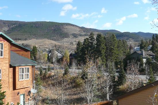 Swan Mountain Resort: View from our Balocny