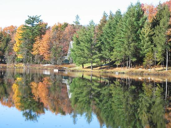 Inlet, NY: Quiver Pond on South Shore Rd