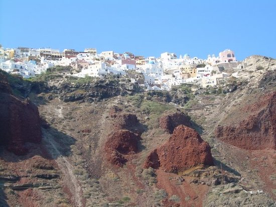 Perivolos, Yunani: Oia, Santorini Grecia